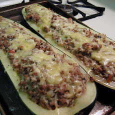Stuffed Zucchini Just Like Martha