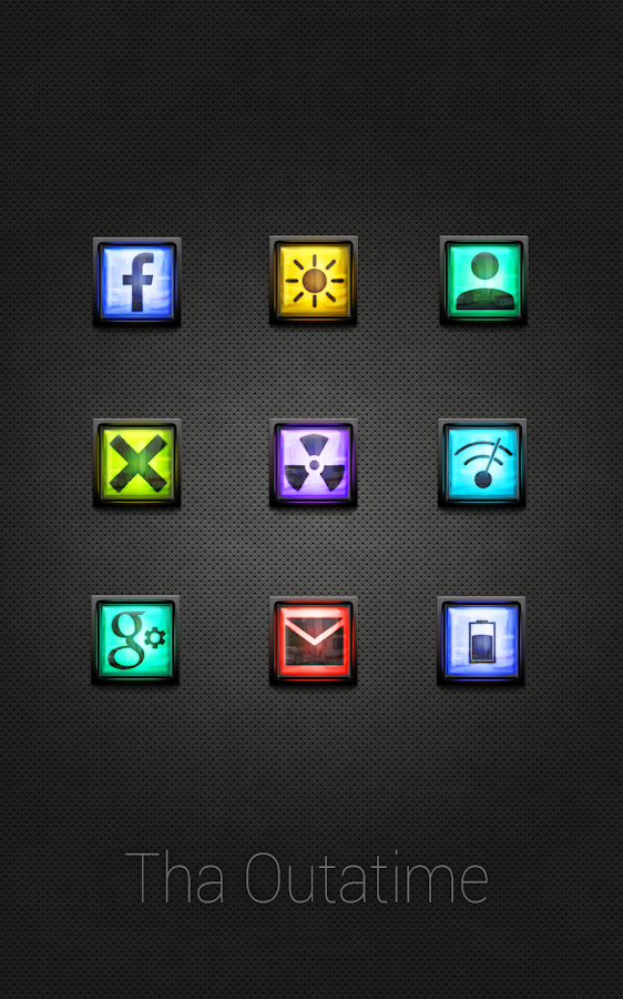 Tha Outatime - Icon Pack Screenshot 3
