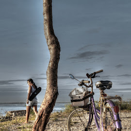 Travel Portraiture by Vladi Ros - Transportation Bicycles ( bikes, landscape )