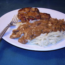 Browned Pork Chops and Gravy