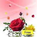 Rose petals icon
