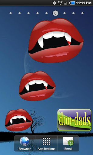 Fangs doo-dad