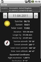 Screenshot of Astroid