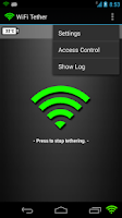 Screenshot of Network Share & WIFI Tethering