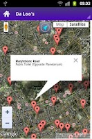 Screenshot of ToDaLoo - London Toilet Finder