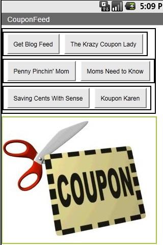 Coupon Feeds and Links