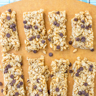 Oatmeal Chocolate Chip Granola Bars