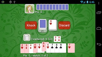 Screenshot of Gin Rummy - Net Gin