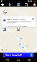 Screenshot of Nearest Toilet/ Nearby Alert