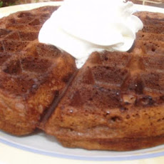 Good Eats Chocolate Chip Waffles (Alton Brown)