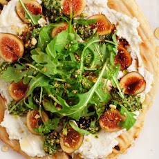 Fig & Ricotta Flatbread Pizza