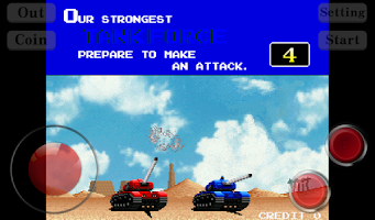 Screenshot of Classic Tank Battle
