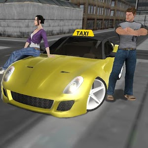 Cover art Crazy Driver Taxi Duty 3D