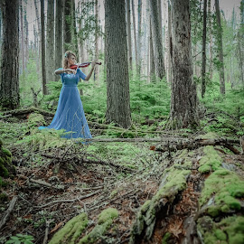 Enchanted Forest by Melissa  Mills  - Novices Only Portraits & People