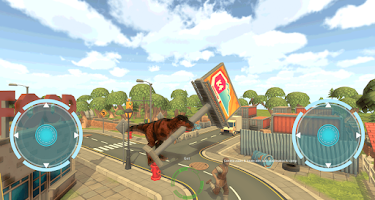 Screenshot of Dinosaur Simulator 3D