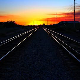 by Matty Gott - Transportation Railway Tracks ( west australia, perth, rail, canningvale )