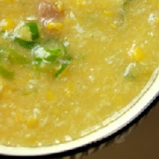 Velvety Chilled Corn Soup