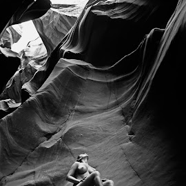 Canyons by Catchlights Fotografie - Nudes & Boudoir Artistic Nude ( nude, naked, arizona, artistic, canyon, rocks, usa )