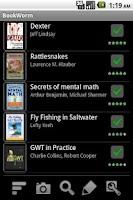 Screenshot of BookWorm