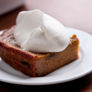 Boozy Persimmon Pudding
