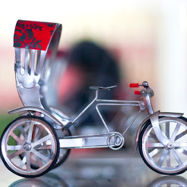 Rickshaw by Icyy Himi - Artistic Objects Toys ( toy, bangladeshi, rickshaw )