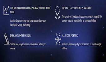 Screenshot of GPro - Facebook Marketing App