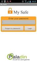 Screenshot of My Safe