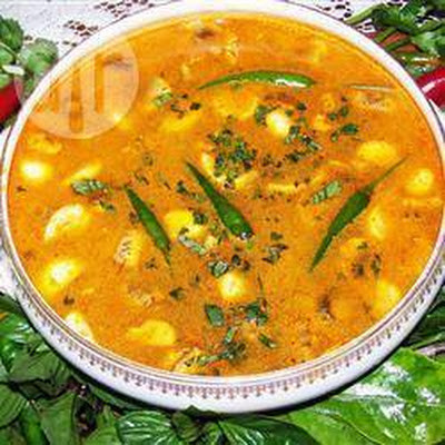 Thaise Tom Yum Soep