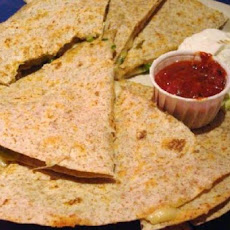 Spicy Cheese & Mushroom Quesadillas