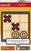 Screenshot of Chicken Tic-Tac-Toe! (Free)