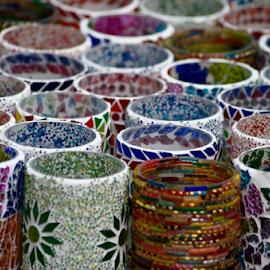 Mugshot by Mike Bing - Abstract Patterns ( mug, decoration, colors, repetition, mugs )