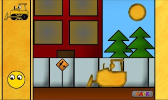 Screenshot of Kids Trucks: Puzzles - Golden