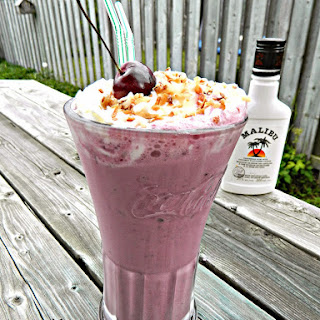Mommy's Cherry Coconut Milkshakes