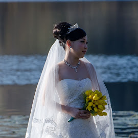 The Bride by Cory Bohnenkamp - Wedding Bride ( woman, bride, chinese )