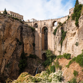 Puente Nuevo by Steve McCaffrey - Landscapes Travel ( europe, nature, architecture, bridge, landscape, travel photography, spain )