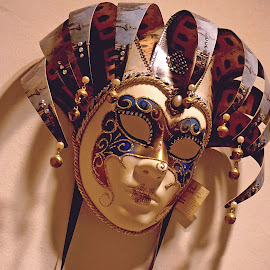 The Mask by Norman Tan - Artistic Objects Other Objects ( glamour, accessory, artistic, mask, glitter )