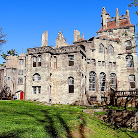 The Fonthill Castle by Sue Delia - Buildings & Architecture Homes ( home, fonthill, old, castle,  )