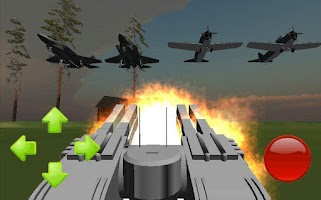 Screenshot of Anti Aircraft 3D
