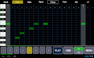 Screenshot of Cadeli Drum Machine