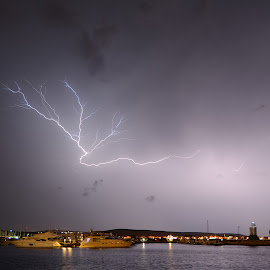 Lightning by Cristian Peša - Landscapes Weather