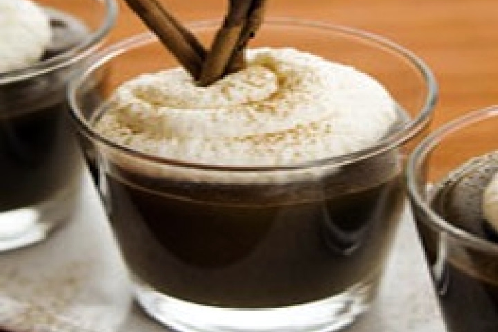 Mexican Coffee Pudding with Kahlúa Whipped Cream Recipe | Yummly