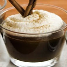Mexican Coffee Pudding with Kahlúa Whipped Cream