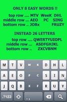 Screenshot of Tap Tap KEYBOARD