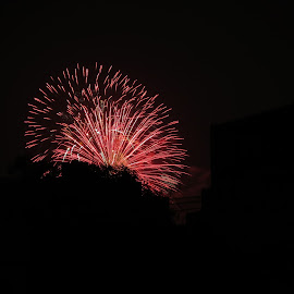 Mid-night celebrations by Farhan R. Naqvi - Abstract Fire & Fireworks ( night photography, fireworks, night )