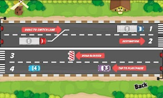 Screenshot of Car Traffic Lane Control Free