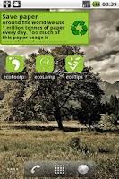Screenshot of ecoTips