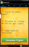 Screenshot of CUPON Escaner Sorteos de ONCE