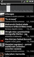 Screenshot of Maribor 2012 (offline)