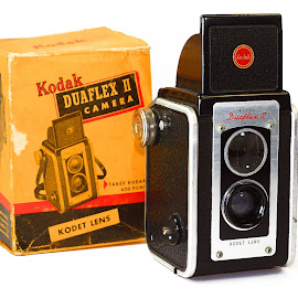 Kodak Duplex II by Hylas Kessler - Artistic Objects Antiques ( old, camera, kodak )