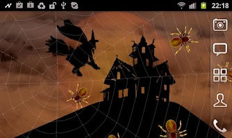Screenshot of Halloween Spiders Free